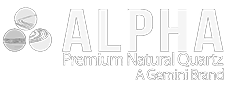 Alpha Premium Natural Quartz Logo