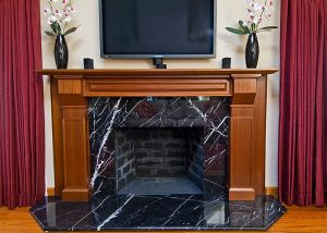 Fireplace Backsplash