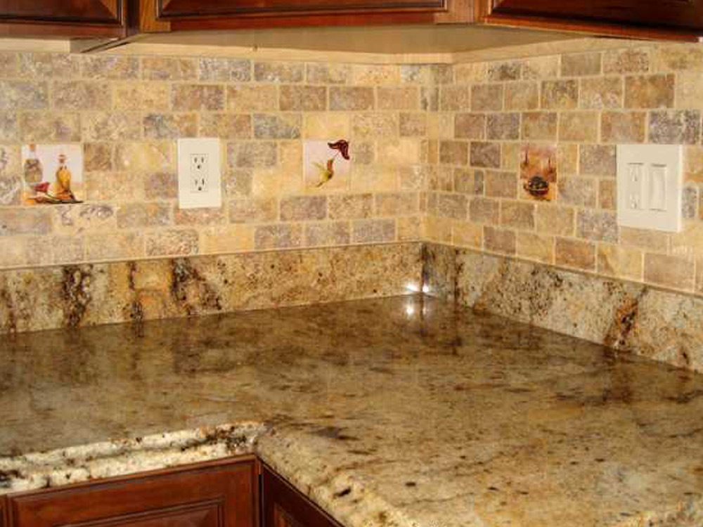 Tiling Kitchen Backsplash Side Walls