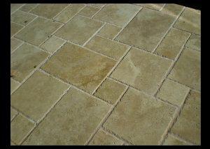 Marble and Granite Bathroom Floors