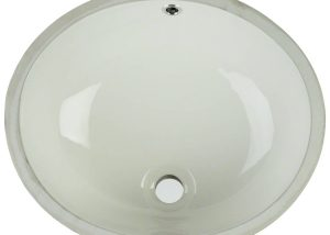 Vanity Bisque Oval Porcelain
