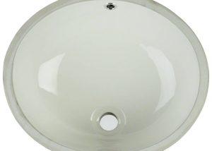 Vanity Bisque Oval Porcelain