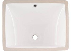 Vanity White Rectangle Porcelain 2015