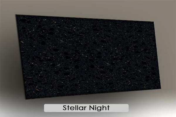 Engineered stone and quartz gemini international marble for Stellar night quartz price